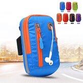 Women Nylon Waterproof Arm Bag Running Phone Bag