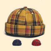 Vermieter Cap Dome Cap Innocent Plaid Sailor Cap