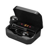 TWS Cyfrowy wyświetlacz bluetooth 5.0 Bezprzewodowe słuchawki douszne CVC8.0 + DSP Douszne słuchawki sportowe Słuchawki Auto para słuchawek