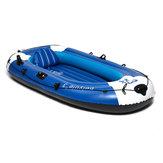 225x127cm 3 persoon opblaasbare roeiboot met 210kg PVC rubber vissen met peddels pomp
