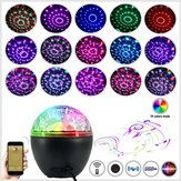Portable Music Lamp Bluetooth DJ Party 16 Light with Remote Control Stereo Subwoofer Party Lights For Stage Bar