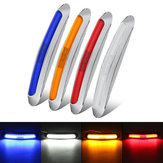10-30V Chrome LED Side Marker Lights مؤشر Lamp ضد للماء for Trailer Truck Lorry