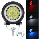 3 Inch 60W LED Work Light Car Circle Headlights Fog Lights Off-Road Vehicle IP67 6000K