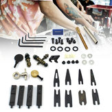 Tattoo Machine Accessories Parts Kit Screws Needles Hook Nut Accessories Box