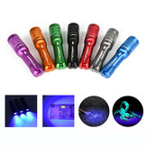 Astrolux A01 A01UV Latarka mono-wyjściowa 395nm Latarka UV 395 Wysokowydajne światło ultrafioletowe Czarne światło Detektor fluorescencji Mini LED Keychain Light Blacklight