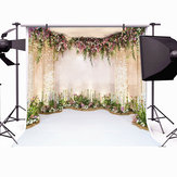 8x8FT Flowers Wall Scene Wedding Backdrop Background Photography Studio Prop