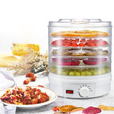 5 Tier Electric Food Vegetable Dehydrator 220-240V Machine Fruit Dryer Beef Jerky Herbs BPA-Free
