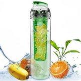 800 ML Taşınabilir Temizle Spor Meyve Demlik Su Bardağı Limon Suyu Şişesi Filtresi