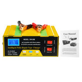12V / 24V Car Batterie Chargeur complètement automatique intelligent 10A Pulse Maintenance Maintenance