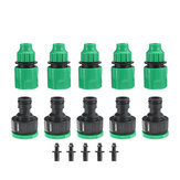 5Pcs Dual-use Connectors Garden Water Quick Coupling 1/2 inch Hose Quick Connectors Garden Pipe Adapters Homebrew Watering Tubing Fitting