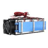 12 V 576 W 8-Chipowy TEC-12706 DIY Elektroniczny półprzewodnikowy radiator chłodniczy do urządzeń klimatyzacyjnych Zestaw termoelektryczny system chłodzenia