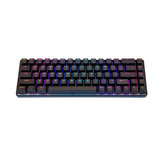 MAGIC REFINER MK14 68 Keys Mechanical Keyboard NKRO USB 2.0 Wired Blue Switch RGB Backlit Gaming Keyboard