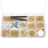 480 stks sieraden maken kit diy oorbel bevindingen haken kralen gemengde handgemaakte accessoires