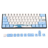 MechZone 72 Keys Penguin Keycap Set OEM Profile PBT Sublimation Keycaps voor mechanisch toetsenbord