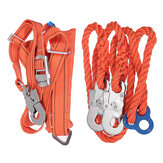 Tree Climbing Sets Climbing Spikes Safety Belt with Rope