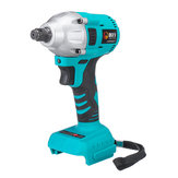18V 350 Nm Cordless Impact Wrench Driver Brushless Motor Electric Wrench Adapted To Makita Battery With LED Light