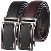 New Men's Two-layer Leather Belt Business Belt