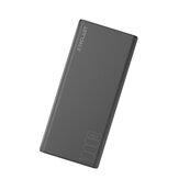 Teclast T10 10000mAh Indicador USB dual Banco de energía de carga rápida de gran capacidad para Huawei P30 Pro Mate 20 Mi9 S10 + Note 10