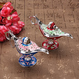Vintage Flower Curving Aladdin Lamp Magic Genie Lamp Wishing Lamp Fairy Tale Collection Dekoracje lamp
