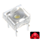 100 STKS 5 MM DC2V Transparante Ronde Top Lens Water Clear Bulb Emitting Rode Kleur LED Diode DIY Lamp