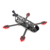 TransTec Freedom HD 228mm Wheelbase 5mm Arm 3K Carbon Fiber 5 Inch Racing Frame Kit for DJI FPV System