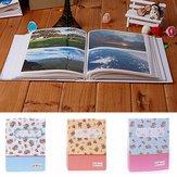 Type d'album de couverture de fleur d'album photo pour la collecte de photos