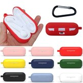 Bakeey Portable Shockproof Dirtproof Silicone Wireless bluetooth Earphone Storage Case with Keychain for Huawei FreeBuds Lite