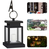 Solar Power Clip Lamp Hanging Led Umbrella Light Lawn Path Landscape Garden