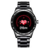LIGE BW0109 Casual Écran tactile complet de 1,3 pouces Fréquence cardiaque IP67 Imperméable Multi Sports Modes Montre intelligente
