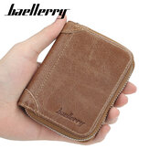 Baellerry Men Kunstleder Multi-Card Reißverschluss Card Bag