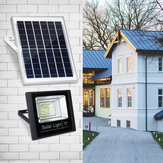10W 25W 45W 65W Solar Panel with 2 Wall Lights Waterproof Remote Control Flood Light Park Yard Garden Driveway