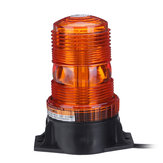 30LED Magnetic Flashing Amber Beacon Recovery Strobe Warning Signal Light DC12V-24V