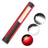 XANES WL03 Work Light 1SMD+16COB+8LED Red Light 4 Modes USB Rechargeable Outdoor Multifunctional Flashlight Emergency Light Camping Light with Magnet