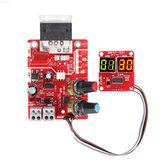 NY-D01 40A / 100A Ponto de exibição digital Solda Estação de tempo e corrente Placa controladora Amperímetro de ponto Placa de controle de soldadores a ponto