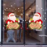 Miico XL505 Noel Sticker Ev Dekorasyon Sticker Pencere ve Duvar Sticker Dükkanı Dekoratif Çıkartmalar
