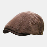 Men's Corduroy Newsboy Cap Winter Beret Hat