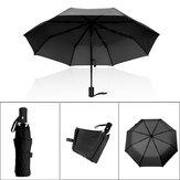 Ombrello automatico pieghevole anti-UV a 8 raggi anti-pioggia per ombrelli da esterno a 8 posti