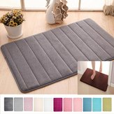 Memory Foam Absorbent Soft Floor Mats Non-slip Rugs Bath Bathroom Bedroom Carpet