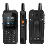 UNIWA F40 Zello Walkie Talkie FDD-LTE 4G Netwerk IP65 Waterdicht 4000 mAh MTK6737M GPS Quad Core 1GB + 8GB Feature Phone