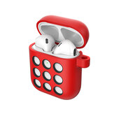 Portable Liquid Silicone Storage Case Headphones Cover For Apple AirPods 1/2 bluetooth Earphone
