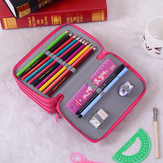 72 Holes Penal Pencil Case Sketch Color Pencil Bag Large Capacity for Girls Boys Pen Bag Stationery Pouch