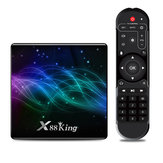X88 King Amlogic S922X 4GB DDR4 RAM 128GB ROM 1000M LAN 5G WIFI bluetooth 5.0 Android 9.0 4K VP9 H.265 TV Scatola