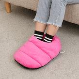 Elektrische warme voetverwarmer voetverwarmde schoenen