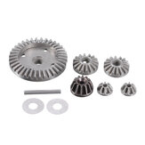 9PCS HBX M16103 Upgraded Metal Differential Gear for 16889 1/16 RC Car Spare Parts