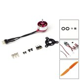 AEORC RC Power Combo MM1104 1104 KV3700 3700KV Brushless Motor + 1S / 2S 5A ESC + 5030 Prop for RC Fixed Wing Airplane Avion