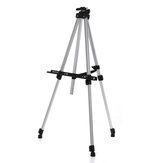 Foldable Aluminum Alloy Painting Tripod Painting Easel Telescopic Tripod Drawing Board Display Stand Sketching Rack with Storage Bag