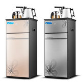 Tea Bar Machine Warm and Hot Water Dispenser Hot Wayer for Coffee Drink Dispenser Two Door Gallon Water Pumping Device