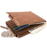 男性RFIDブロッキング財布盗難保護マネーバッグカードホルダースリム財布クラッチ