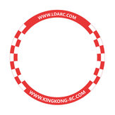 LDARC 500mm Round Flying Racing Gate Door for RC Drone Game Competition