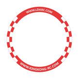 LDARC 500 мм Круглый Flying Racing Gate Door для RC Дрон Игровой конкурс